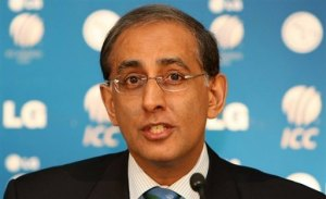 ICC Chief Haroon Lorgat stressed on the fact that India had no role in shifting 2011 WC matches from Pak