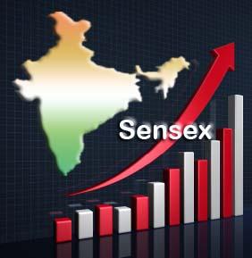 Sensex hits 10-month high