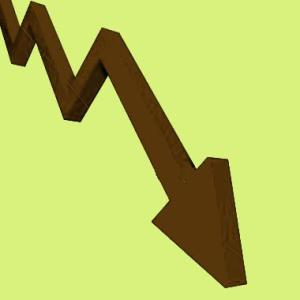 Market falters