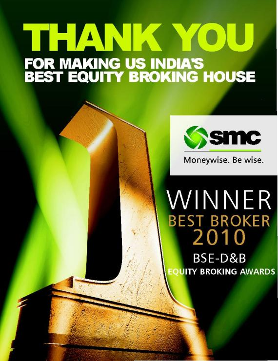 THE BEST EQUITY BROKER & THE LARGEST DISTRIBUTION NETWORK IN INDIA